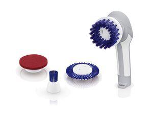 SILVERCREST® Elektrische Reinigungsbürste »SRB 6 A1« mit 4 Aufsätzen