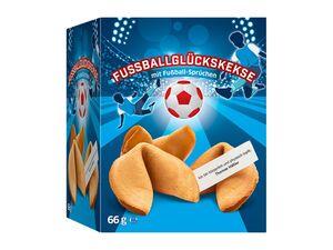 Fußballglückskekse mit Fußball-Sprüchen