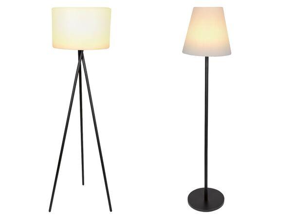 LIVARNO LUX® Außenstehleuchte, mit Solar, Lichteffekte