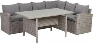 TrendLine Dining Lounge Möbelset Grassina inkl. Auflagen