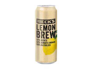 Beck's Lemon Brew Radler
