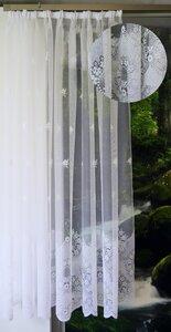 Jacquard Raschelstores ca. 160 cm hoch