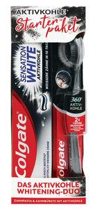 Colgate Aktivkohle Whitening Duo Starterpaket