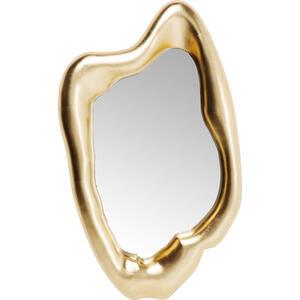 Kare-Design Spiegel  Hologram Gold  Glas