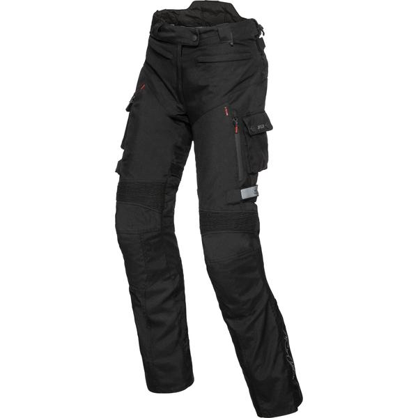 FLM Damen Reise Textilhose 2.1 schwarz Größe M
