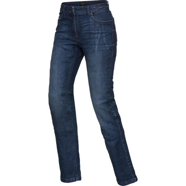 Spirit Motors Damen Aramid-/Baumwolljeans Stretch 3.0 blau Größe 34/32