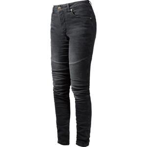 John Doe Betty Biker Damen Jeans schwarz Größe 32/32