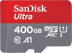 microSDXC Ultra A1 (400GB) Speicherkarte + Adapter