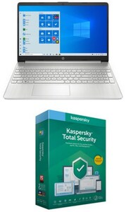 """15s-eq0654ng (9RG39EA) 39,6 cm (15,6"""") Notebook natural silver inkl. Total Security"""