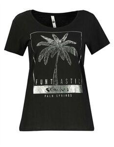 Damen T-Shirt - Glitzer-Print