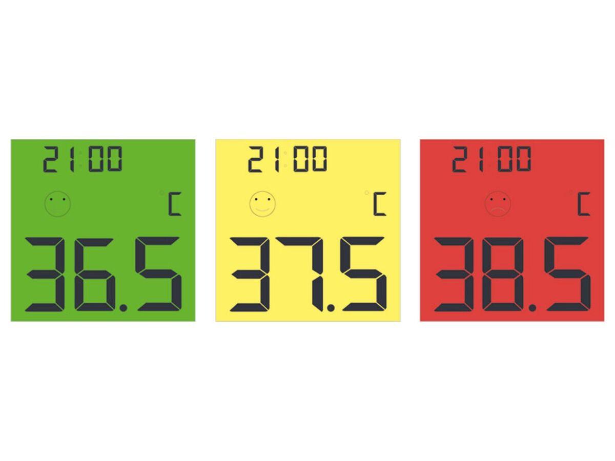 Bild 2 von Dr. Senst Stirn-Thermometer 2in1 Infrarot