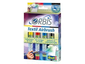Revell ORBIS Farbpatronen »Textil Airbrush«, zum Sprühen in unterschiedlichen Farben