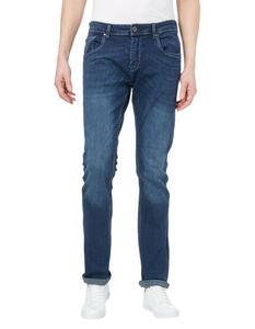 Herren Stone Washed Slim Fit Jeans