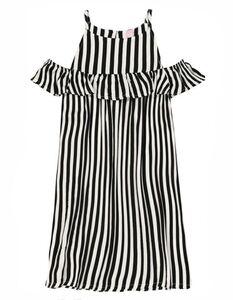 Mädchen Kleid - Cold-Shoulder
