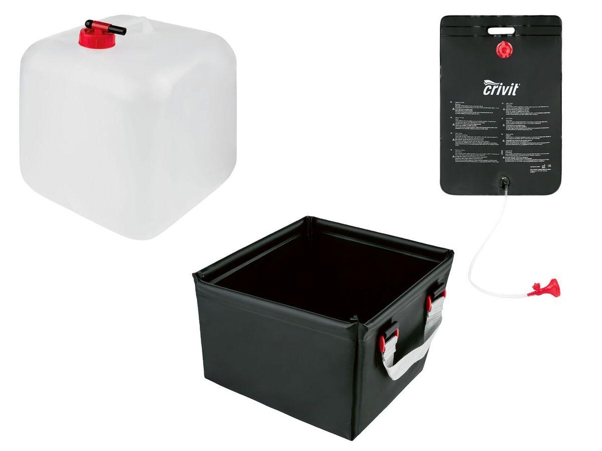 Bild 1 von CRIVIT® Campingausrüstung, Spüle, Dusche, Wasserkanister