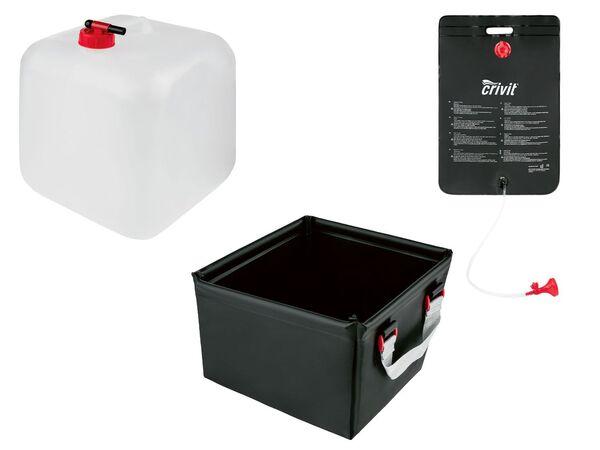 CRIVIT® Campingausrüstung, Spüle, Dusche, Wasserkanister