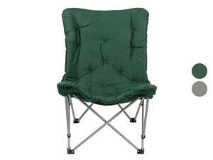 CRIVIT® Campingsessel, gepolsterter Sitzfläche