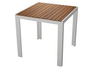 FLORABEST® Gartentisch »Buenos Aires«, 75 x 75 cm, Alu/Holz