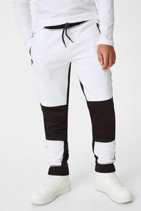C&A Fortnite-Jogginghose, Weiß, Größe: 176 XL