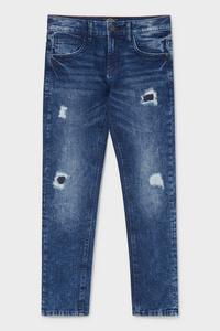 C&A Slim Jeans, Blau, Größe: 158