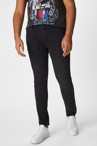 C&A CLOCKHOUSE-Skinny Jeans, Schwarz, Größe: 40