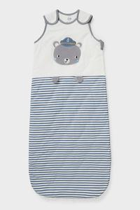 C&A Baby-Schlafsack-Bio-Baumwolle, Weiß, Größe: 100 cm