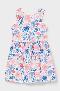C&A Kleid-Bio-Baumwolle, Weiß, Größe: 110