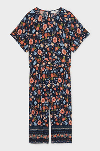 C&A Set-Kurzarmshirt und Hose, Blau, Größe: 92