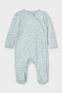 C&A Baby-Schlafanzug-Bio-Baumwolle, Grün, Größe: 80