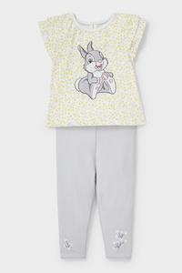 C&A Disney-Baby-Outfit-Bio-Baumwolle-2 teilig, Weiß, Größe: 62