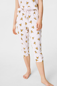 C&A Pyjamahose-Bio-Baumwolle-Disney, Rosa, Größe: S