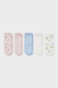 C&A Multipack 5er-Baby-Socken, Bunt, Größe: 18-20