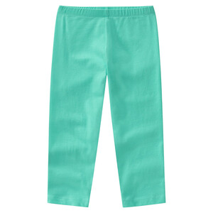 Mädchen Capri-Leggings in Unifarben