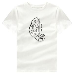 Jungen T-Shirt mit Tier-Print