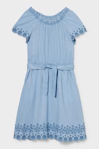 C&A Jeanskleid-Tencel™, Blau, Größe: 104
