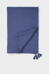 C&A Decke-130 x 170 cm, Blau, Größe: 0