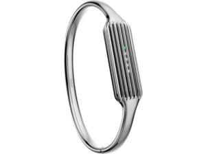 FITBIT FB161MBSRS, Ersatz-/Wechselarmreif, Fitbit, Flex 2, Silber