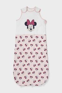 C&A Minnie Maus-Baby-Schlafsack-Bio-Baumwolle, Rosa, Größe: 100 cm