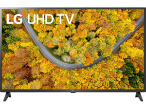 LG 43UP75009LF LCD TV (Flat, 43 Zoll / 108 cm, UHD 4K, SMART TV, webOS 6.0 mit ThinQ)