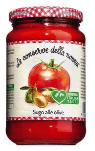 Le Conserve della Nonna Sugo alle olive - Tomatensauce mit Oliven..., Italien, 0.3700 l