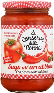 Le Conserve della Nonna Rustico al peperoncino - Tomatensauce pik..., Italien, 0.3700 l