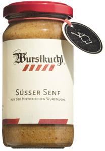 Wurstkuchl Süsser Senf - aus der Historischen Wurstkuchl   - Gew..., Deutschland, 0.2000 l