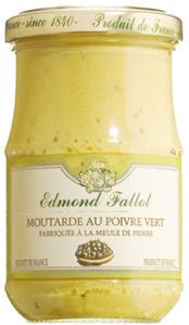Edmond Fallot Moutarde au poivre vert - Dijon-Senf mit grünem Pf..., Frankreich, 0.2100 kg