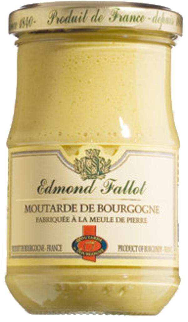 Edmond Fallot Moutarde de Bourgogne Aoc 210g   - Saucen, Pesto & ..., Frankreich, 0.2100 kg