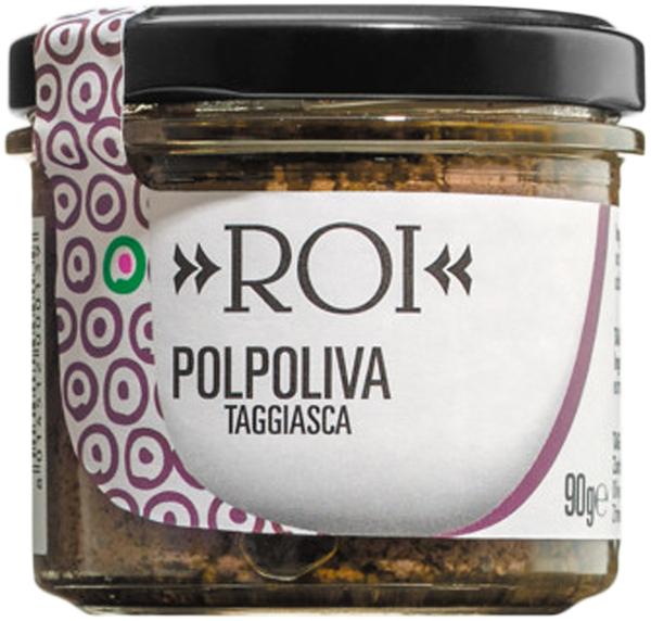 Roi Polpoliva Taggiasca - Schwarze Olivencreme 90g   - Saucen, Pe..., Italien, 0.0900 kg