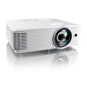 Optoma HD29HST Kurzdistanz - Full HD, 4.000 ANSI Lumen, 50.000:1 Kontrast, 3D, 120 Hz, Lautsprecher, 2x HDMI, USB