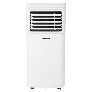 MEDION Mobile Klimaanlage MD 37020, Kühlen, Entfeuchten und Ventilieren, Kühlleistung 7.000 BTU, Kühlmittel R290, max. 25m²
