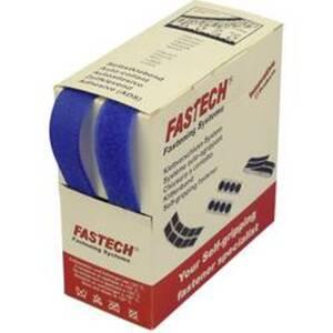 FASTECH® B20-STD042605 Klettband zum Aufnähen Haft- und Flauschteil (L x B) 5 m x 20 mm Blau 5 m