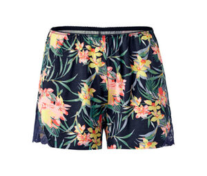 Shorts, Tropen-Alloverprint