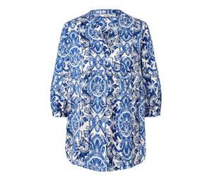 Bedruckte Tunika-Bluse